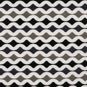 Odeon Charcoal RM Coco Fabric