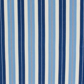 Pool House Stripe Admiral Blue RM Coco Fabric