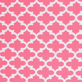 Ponti Trellis Candy Pink RM Coco Fabric