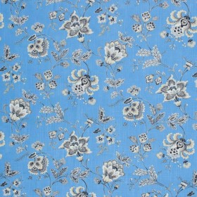 Wightwick Manor Blue Heaven RM Coco Fabric