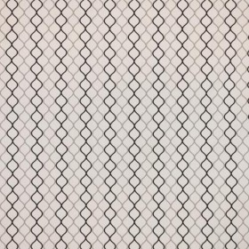 Network Trellis Graphite RM Coco Fabric