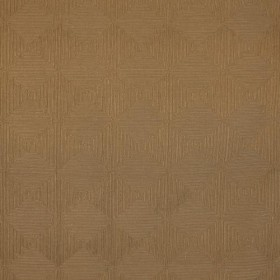 Greek Key Fret Brown Sugar RM Coco Fabric