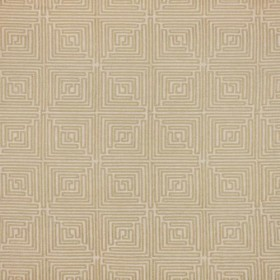 Greek Key Fret Sandstone RM Coco Fabric