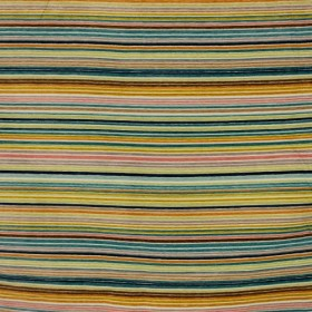 Technicolor Stripe Peachy RM Coco Fabric