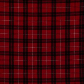 Sheffield Plaid Classic Red RM Coco Fabric