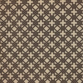 Imperial Fret Pecan RM Coco Fabric