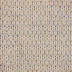 Chain Reaction Lapis RM Coco Fabric
