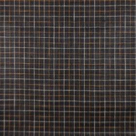 Mercer Check Charcoal RM Coco Fabric