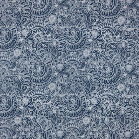 Flower Power Cobalt RM Coco Fabric