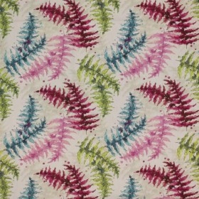 Fern Garden Fruit Punch RM Coco Fabric