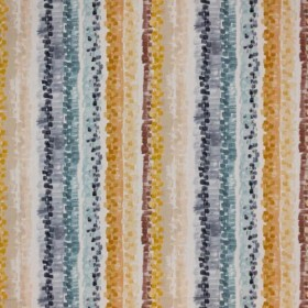 Brushstroke Stripe Gold Rush RM Coco Fabric