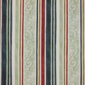 Constantinople Stripe Tuscan Red RM Coco Fabric