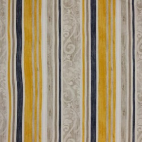 Constantinople Stripe Gold Rush RM Coco Fabric