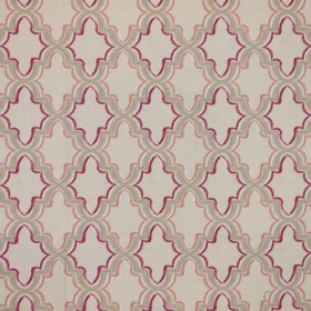 Constantinople Trellis Cassis RM Coco Fabric