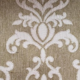 Grove Park Damask Thyme RM Coco Fabric