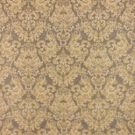Frescatti Damask Burnished Gold RM Coco Fabric