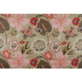 Gorgeous Blossom Pink Floral Fabric