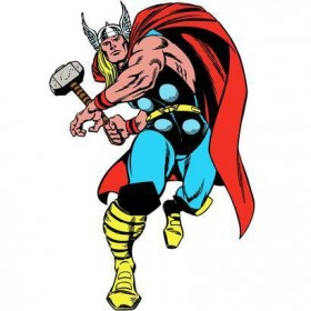 RMK3473GM Classic Thor Giant Wall Decal