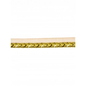 Spectacular Country Club Golden Trim Fabric