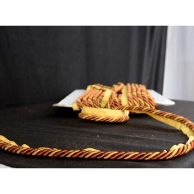 BC10003 Red Gold Lip Cord Trim
