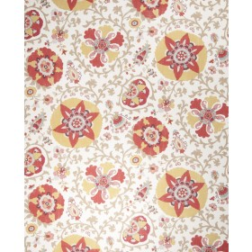 Magnificent Camille Suzani Curry Fabric