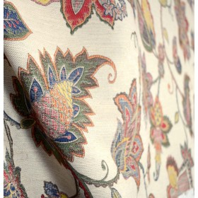 Richmond Hill Federal Upholstery Floral Fabric