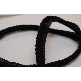 6062 Black Europatex Lip Cord