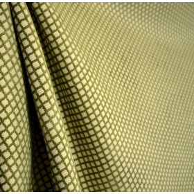 Green Diamond Chenille Upholstery Fabric