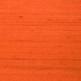 Striking Luxury Silk Paprika Fabric