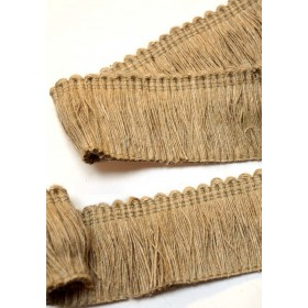 HT1581 Jute Brush Fringe Trim
