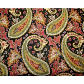 Plumtree Paisley Spice Waverly Fabric