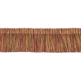 Magnificent Classic Brush Fringe | Pomegranate by Robert Allen