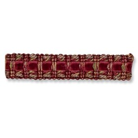 Gorgeous Traditional Tape | Claret by Robert Allen