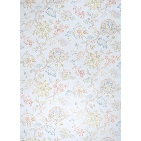 Stunning Ceto Floral Blue Citrine Fabric
