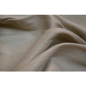 REMNANT Mulberry 19 Oatmeal Fabric 55 inches x 3.25 yards