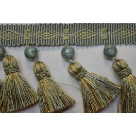 Nevers Willow Beaded Tassel Trim