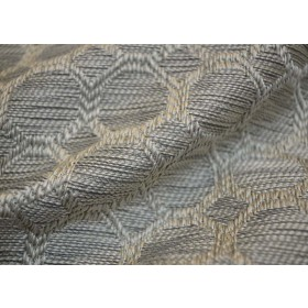 Dax Silver Regal Fabric (U19501)
