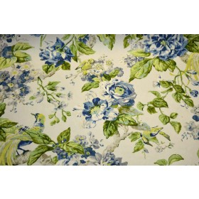 Floral Engagement Porcelain Waverly Fabric