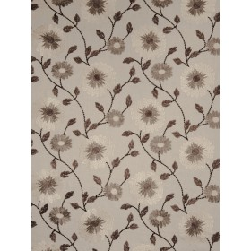 Pretty Arteus Floral Linen Fabric