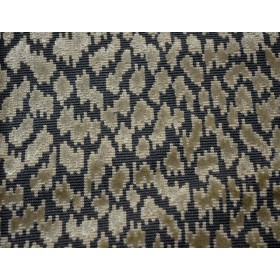 REMNANT Grey Blue Cheetah Fabric 54 inches x 1.75 yards