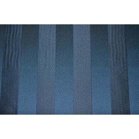 REMNANT Blue Tone Stripe Fabric 54 inches x 1.5 yards