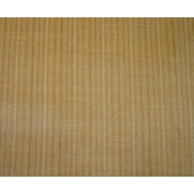 REMNANT Gold Stria Velvet Fabric 54 inches x 1.125 yards