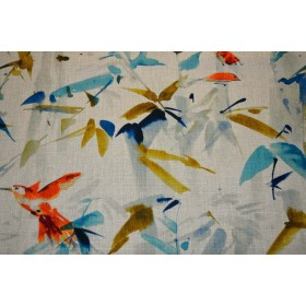 Hummingbird Summer Regal Fabric