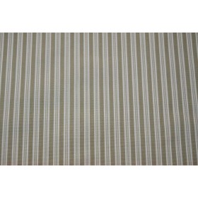 REMNANT Tan Stripe Fabric 55 inches x 2.625 yards