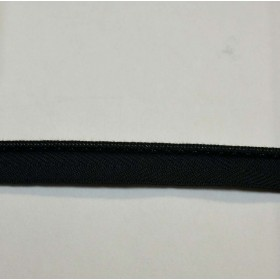 BM300 856 Black Lip Cord Trim