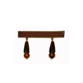 Special Facetted Bead Fringe | Copper by Robert Allen