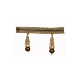 Glowing Facetted Bead Fringe | Pyrite by Robert Allen