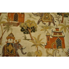 Kumar Terracotta Covington Fabric