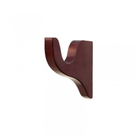 23-204-03 Mahogany Bracket Select Drapery Hardware Bracket