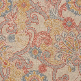 2330CB PAISLEY RED RM Coco Fabric